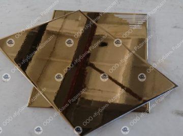 плитка с напылением нитрид титана под золото