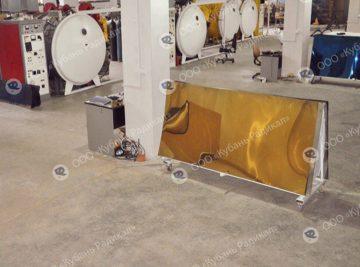 Применение вакуумных технологий, напыление нитрид титана