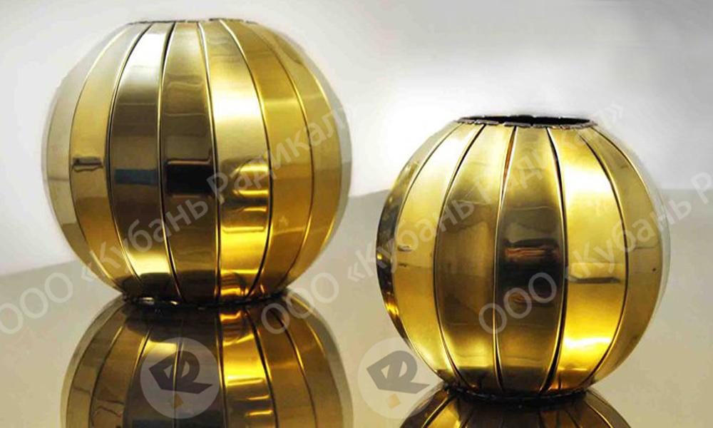 Подкрестные шары для куполов крестов
