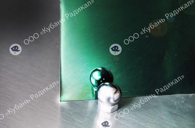 Оксид титана напыление на лист нержавеющей стали