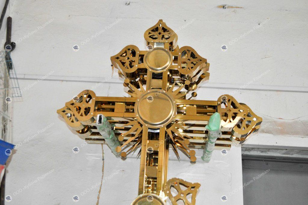 Изготовление крестов для куполов