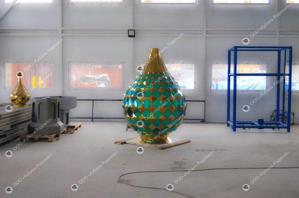 Заказать купол для храма