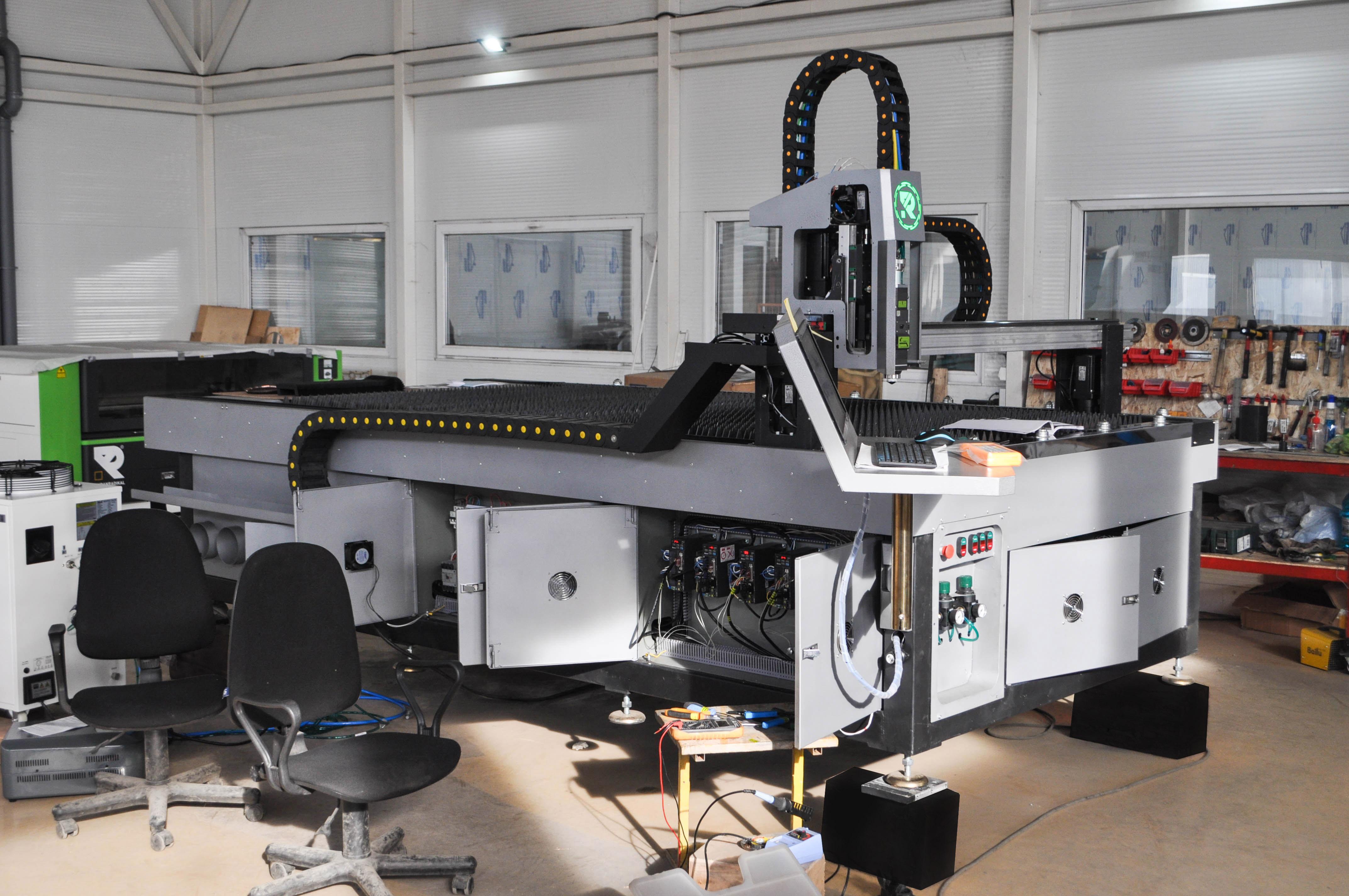 Изготовление станков лазерной резки металла