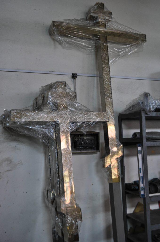 Изготовление крестов для куполов церквей